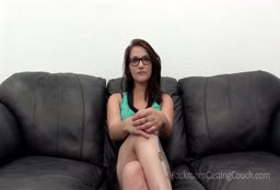 Amateur With Glasses Gives Amazing Blowjob