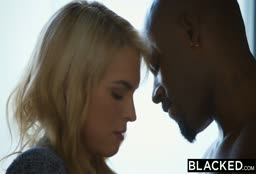 American Blonde Gets Blacked