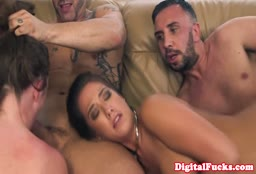 Eva Lovia Gets Destroyed In A Boat Orgy