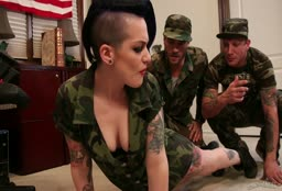 Army Threesome Recruitment