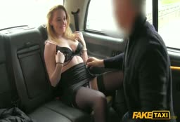 British MILF In The Fake Taxi